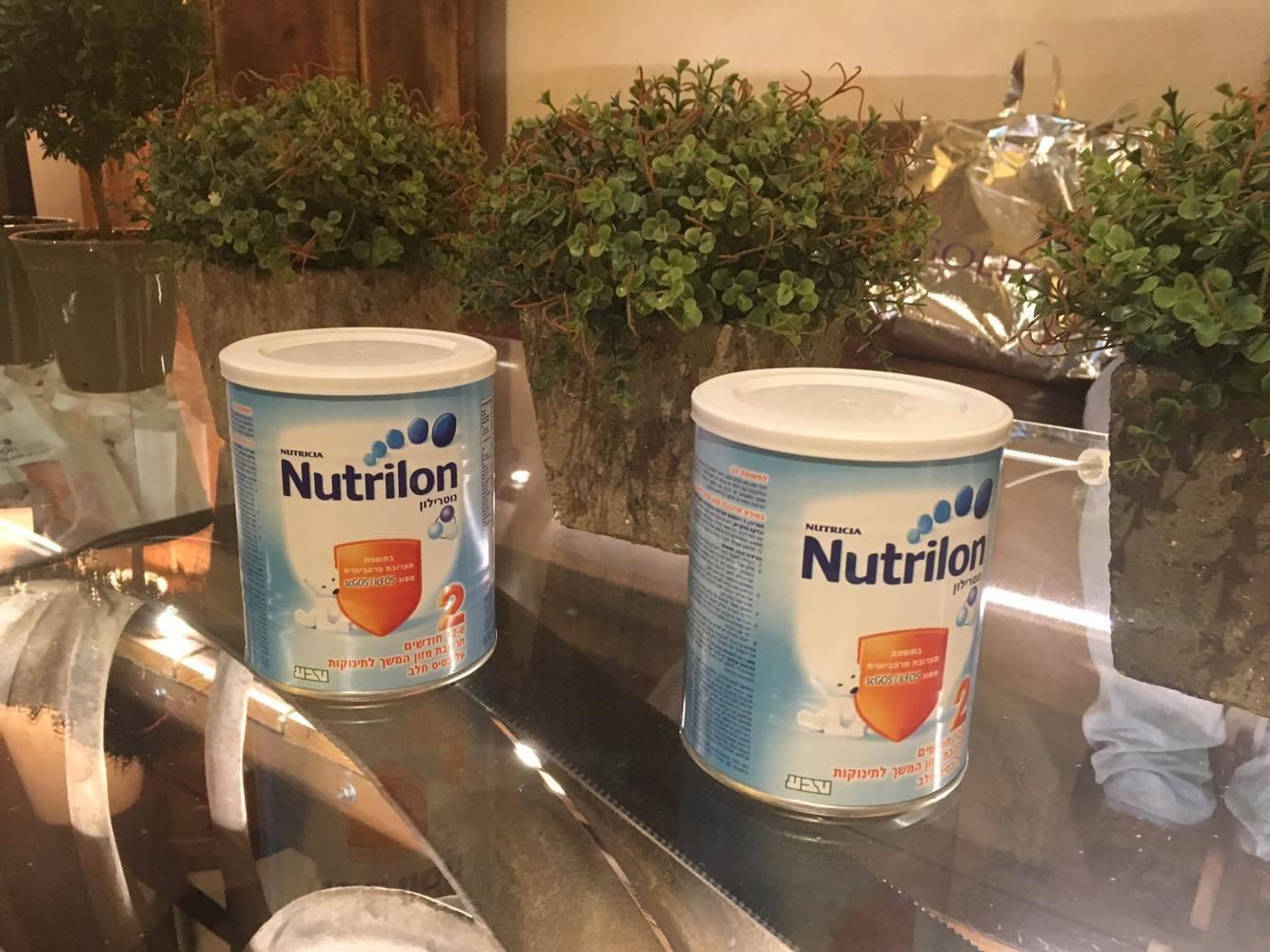 נוטרילון- תחליף מזון לתינוק נוטרילון של חברת טבע הכי קרוב לחלב אם