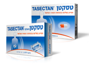 טסקטן, תרופה נגד שלשולים