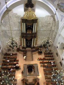 בית הכנסת חורבה בסיור ירושלים