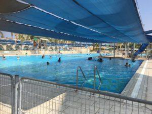 בריכת שחייה אולימפית בפארק המים ימית 2000