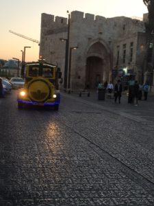 סיור לילי ברכבת לירושלים