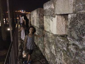 סיור עששית בחומות העיר