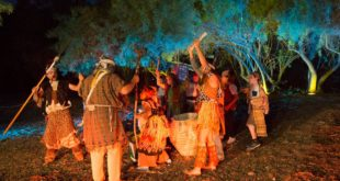 לילות אפריקה בגן הבוטני- ריקוד הגשם