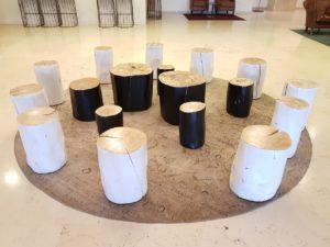 פינות ישיבה מלון יערים צילום: ליטל ירון